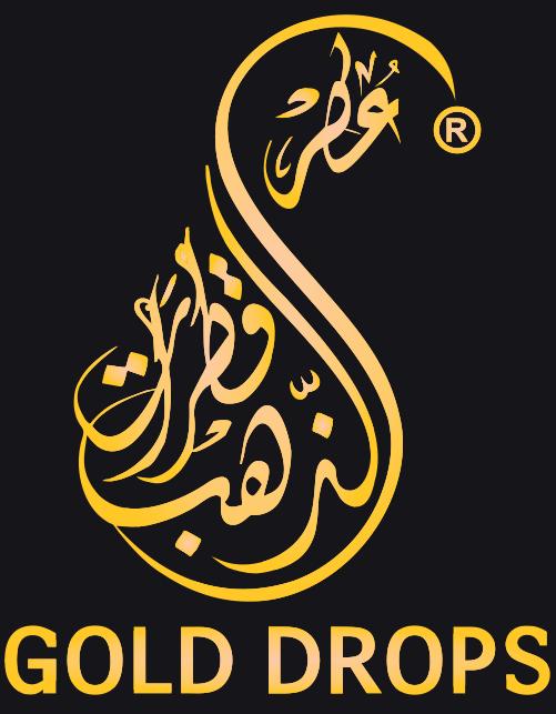 قطرات الذهب